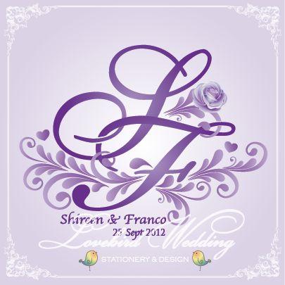 Logo design for Sheena & Franco