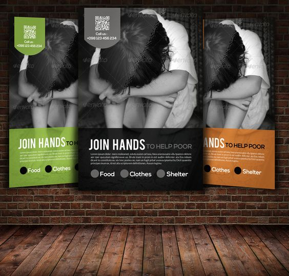 Charity \ Donation Flyer Templates by Psd Templates on Creative - donation flyer template