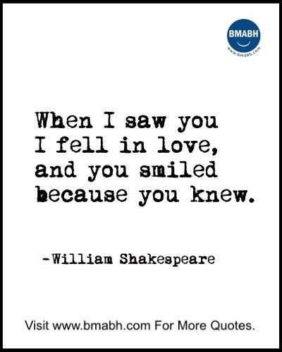 Shakespeare Quotes About Love At First Sight : Love At First Sight Quotes Shakespeare 10 beautiful quotes about love ...