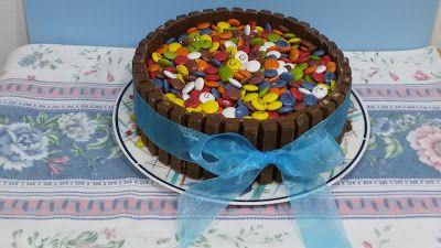 la cocinita de tere: tarta kit-kat