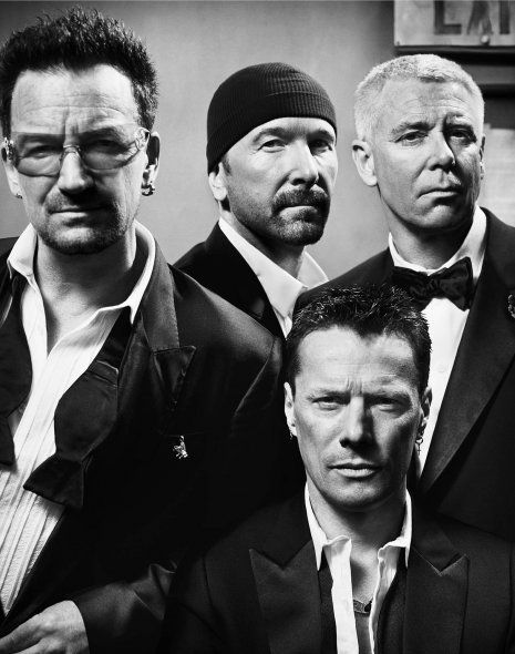 U2 by Vincent Peters - GQ Mag's Men of the Year    DUDES ARE GETTING OLD!!!!