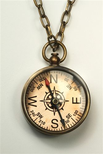 Compass Necklace by Roost Jewelry