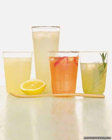 Zesty Summer Drinks