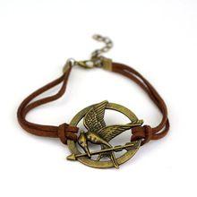 NIEUWE Mode Armbanden Hunger Games De Mock Vogel Gepersonaliseerde Sieraden Brons(China (Mainland))