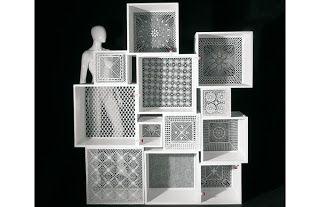 crochet installation