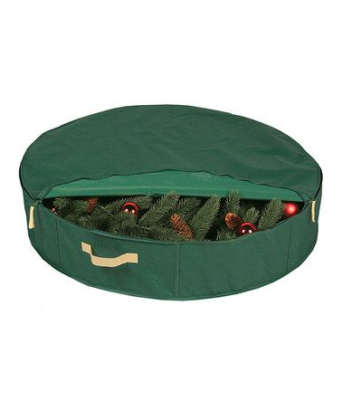 Take a look at this Green 30'' Wreath Protector by Richards Homewares on #zulily today!