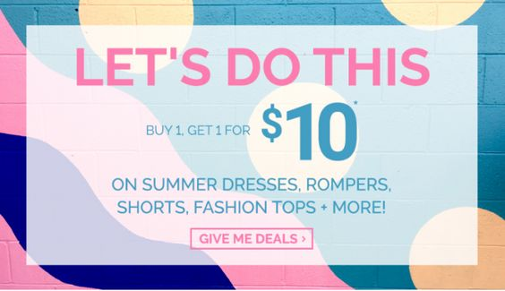 Ardene Canada Todays Deals: Buy 1 Get 1 For $10  FREE Shipping on Orders Of $30 http://www.lavahotdeals.com/ca/cheap/ardene-canada-todays-deals-buy-1-1-10/88628