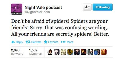 27 Tweets From Night Vale That Will Make You Question Reality