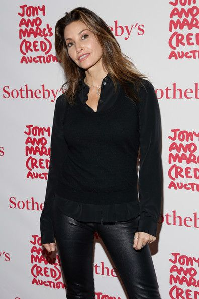Gina Gershon attends Jony And Marc's (RED) Auction at Sotheby's on November 23, 2013 in New York City.