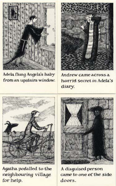 The Helpless Doorknob a shuffled Story  (1989) Edward Gorey