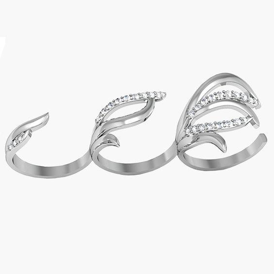 Серебряные кольца оптом : Архелия
