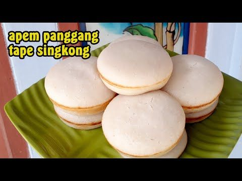 Resep Apem Panggang Empuk Dan Lembut Resep Apem Panggang Tanpa Telur Cara Membuat Apem Youtube Resep Panggang Kue Kering