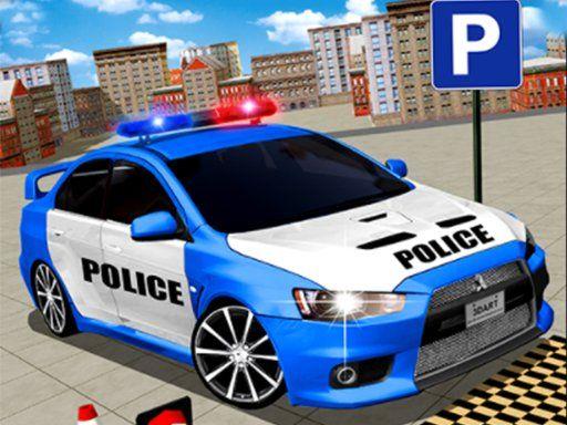 Modern Police Car Parking 3d Police Cars Police Car Parking