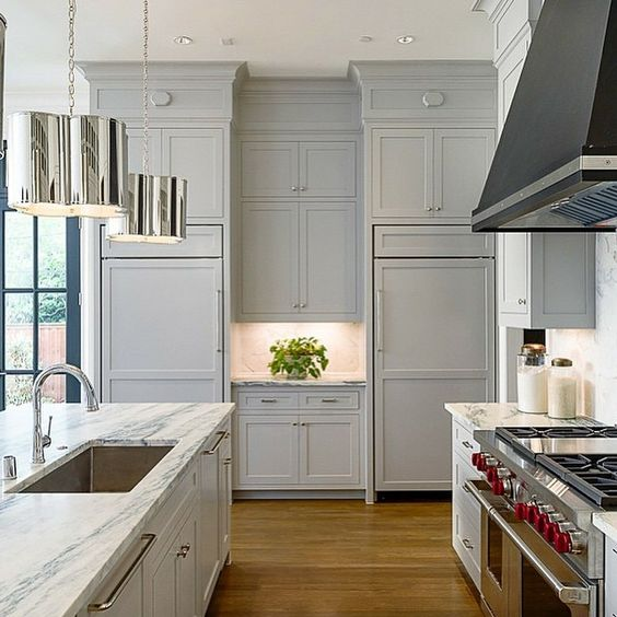 Beautiful kitchen by @briggsfreeman