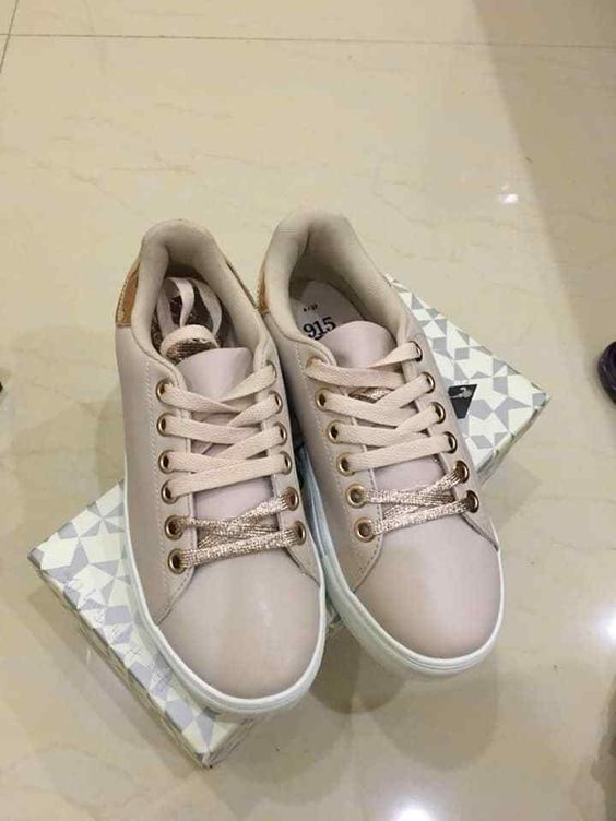 White Sports Shoes For Women Made In Vietnam Fashion Clothing