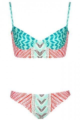 Bikinis - Cute Two-Piece Swimsuit Styles Summer 2013