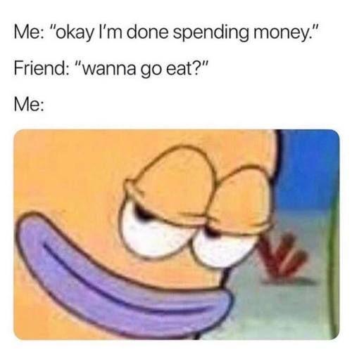 لا أحد يُقاوم الطعام اللذيذ