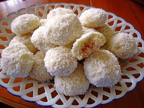 kokosschneeb llchen rezept mit bild von schokomaus01 x mas cookies pinterest. Black Bedroom Furniture Sets. Home Design Ideas