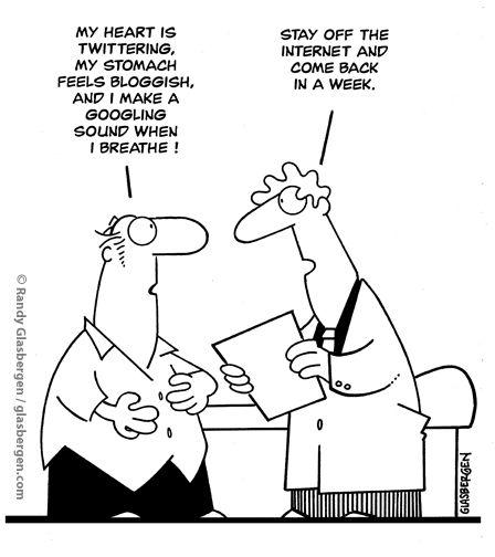 I can't I experience withdrawal symptoms!  Cartoon ID: toon889