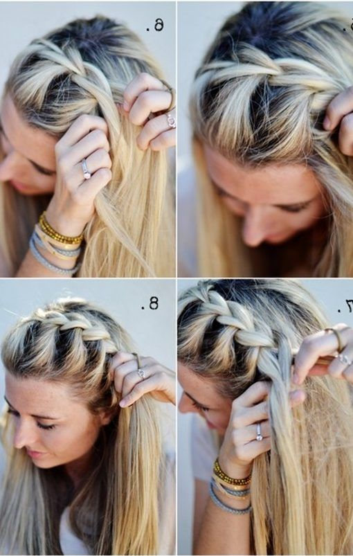 30 French Braids Hairstyles Step By Step How To French Braid Your Own French Braids Hairstyles Step By Step How To F Hair Styles French Braid Hairstyles Hair