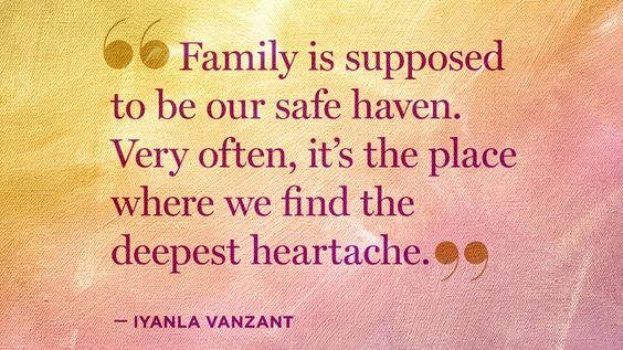 Even the most picture-perfect families have unseen cracks. Get Iyanla Vanzant's thoughts on how to cope if your family is facing a breakdown.: