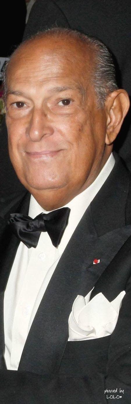 The amazing Oscar de la Renta...1932-2014- #LadyLuxuryDesigns