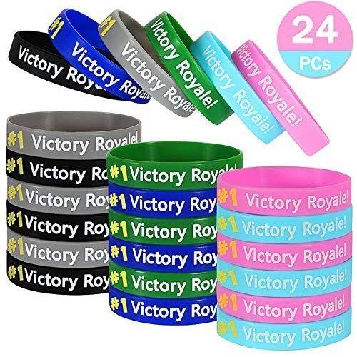 2 x Fortnite Video Game Silicone Wristband Boys//Girls