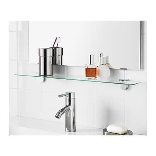 Kalkgrund Glasablage Ikea Deutschland Glasablage Diy Badezimmerspiegel Und Glasregal