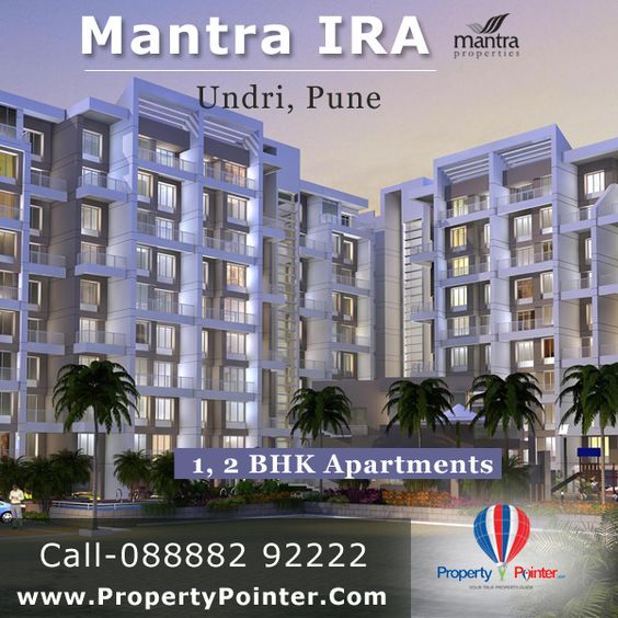 Buy Your Luxurious and Specious Apartments in Best Rate only at Mantra IRA in Undri Pune visit for more info like Price Amenities at http://www.propertypointer.com/mantra-ira/undri/pune
