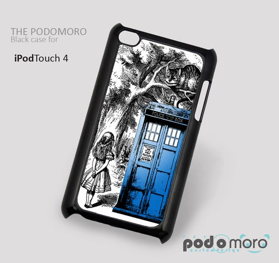 Alice In Wonderland Doctor Who for iPhone 4/4S, iPhone 5/5S, iPhone 5c, iPhone 6, iPhone 6 Plus, iPod 4, iPod 5, Samsung Galaxy S3, Galaxy S4, Galaxy S5, Galaxy S6, Samsung Galaxy Note 3, Galaxy Note 4, Phone Case