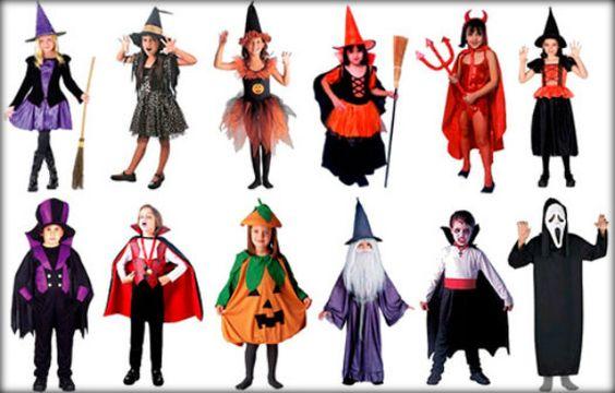 Roupas para o Halloween infantil