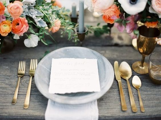 Whats on this menu?  Either way these guests will enjoy their dinner with this lovely place setting. #film #filmisnotdead #contax645 @photovisionprints #NOLAweddings #greergweddings #NOLAweddingphotographer #southernweddings by greerg