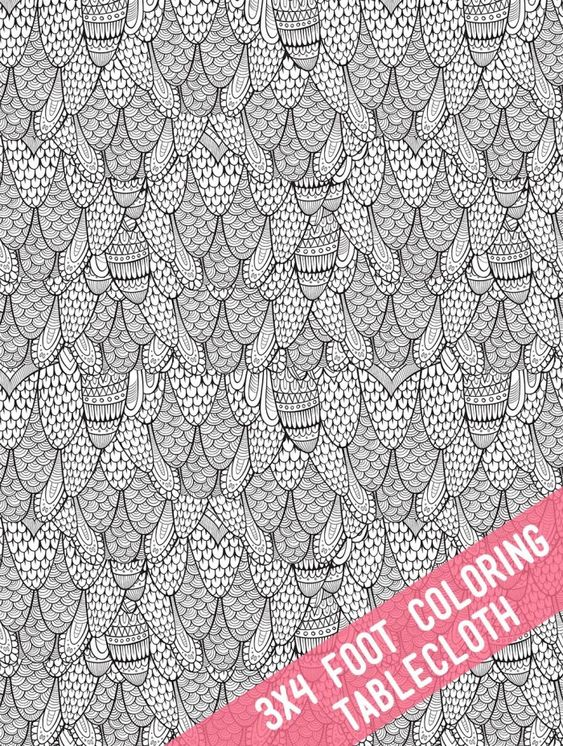 Printable Coloring Tablecloths And Posters In 2020 Printable Coloring Coloring Pages For Kids Kids Party Crafts