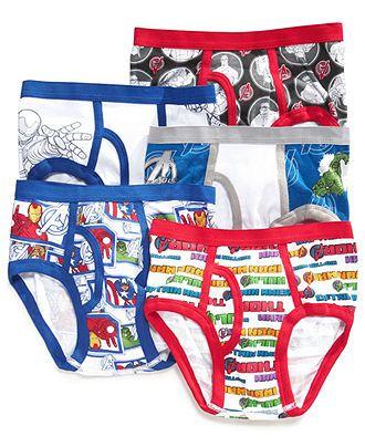 Handcraft Little Boys' 7-Pack Disney or Superhero Cotton Underwear ...
