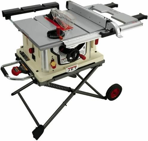 Jet Jbts 10mjs 10 Jobsite Table Saw W Stand 707000 Free Shipping Google Shopping In 2020 Jobsite Table Saw Best Table Saw Table Saw