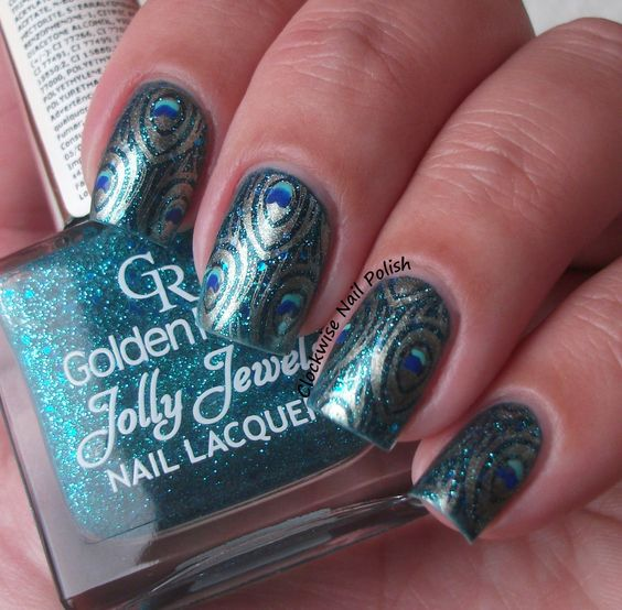 The Clockwise Nail Polish: Born Pretty BP-30 Stamping Plate Review