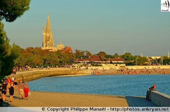 Promenade de la Concurrence au couchant, La Rochelle