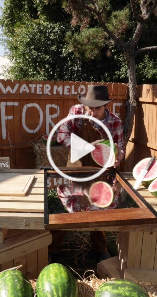 Zach King Zachking On Tiktok The Magical Fruit Stand Farmlife Magic Loop Zach King Fruit Stands Farm Life