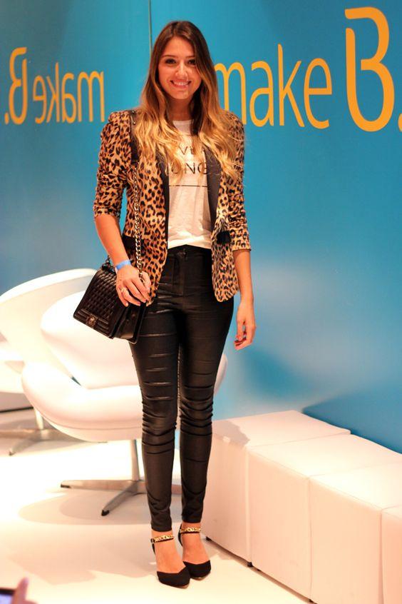 quero esse blazer já!!  look Carol Heinrichs SPFW2