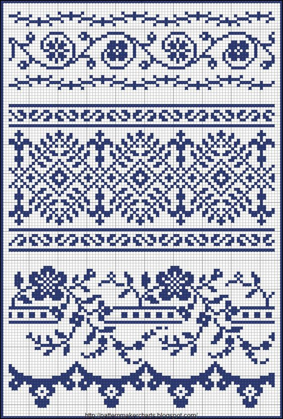 Knitting Pattern Chart Creator : Free Easy Cross, Pattern Maker, PCStitch Charts + Free ...