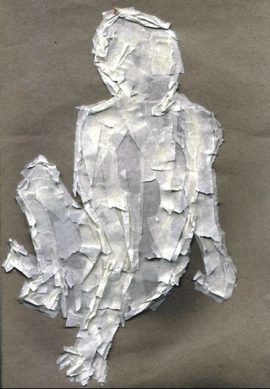 i heart teaching art: drawing with masking tape
