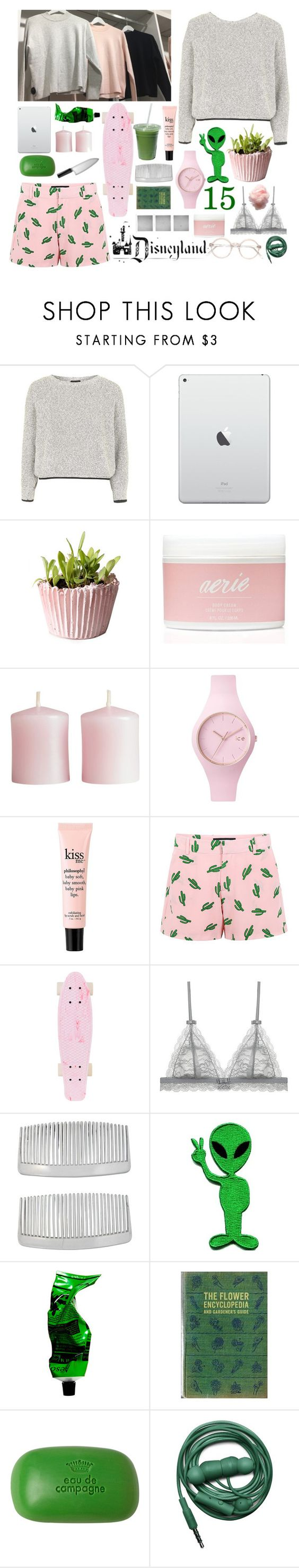 """contest entry"" by guccisalt ❤ liked on Polyvore featuring Topshop, Aerie, H&M, Ice-Watch, philosophy, American Retro, Holga, John Lewis, Retrò and Aesop"