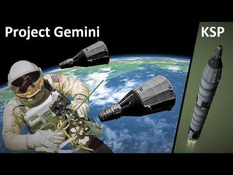 The First Ha F Of Project Gemini Recreated In Ksp In 2020 Project Gemini Space Race Gemini