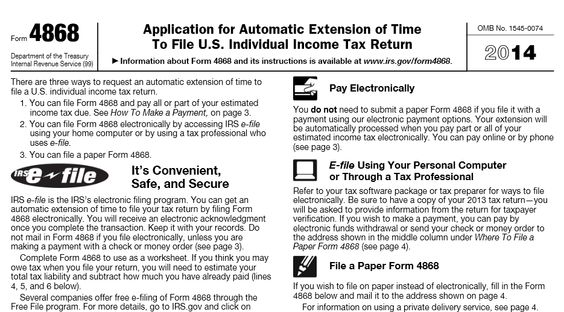Where can I get IRS tax forms? wwwirsgov Useful Websites - income tax extension form
