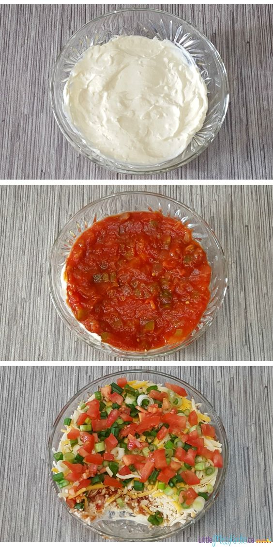 Layered nacho dip, Nacho dip and Nachos on Pinterest