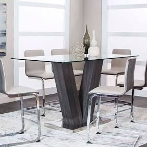 Counter Height Glass Dining Table Google Shopping In 2020 Counter Height Dining Table Tempered Glass Table Top Table