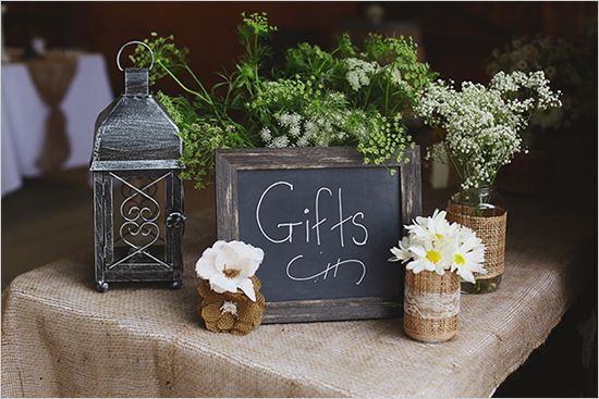 Rustic Wedding Gift Table Ideas Party decor ideas on pinterest diy ...