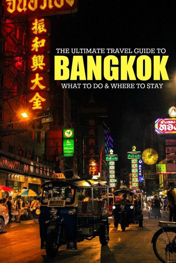 travel guides thailand tips bangkok