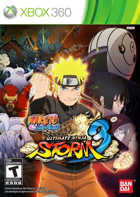 Naruto Shippuden Ultimate Ninja Storm 3! My second Favorite!!