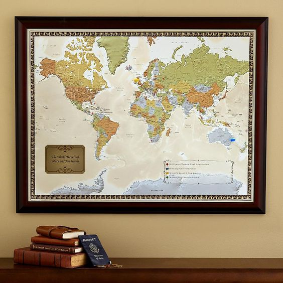 Travel Destination Maps – Personalized Travel Maps
